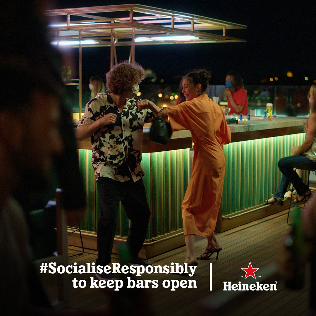 """Heineken launches """"Back to the Bars"""" campaign cheering the HoReCa industry - Brand Spur"""