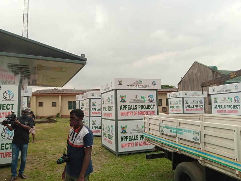 LASG Produces Eco-Friendly Solar-Powered Kiosks for Farmers (Photos) - Brand Spur