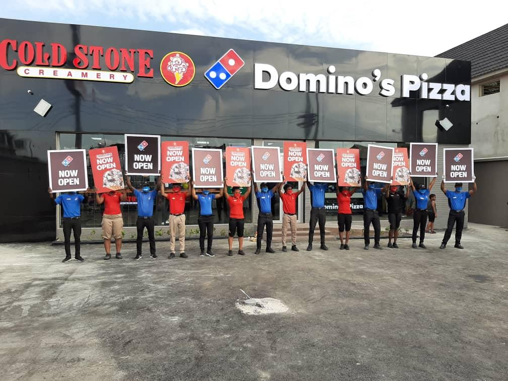 Eat'N'Go Opens 110th Store as Domino's Pizza & Cold Stone Creamery Celebrates New Store Opening In Badore (Photos) - Brand Spur