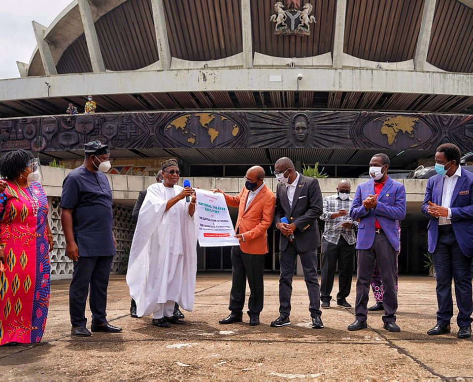 FG Hands Over National Theatre To Private Investors For Renovation (Photos) - Brand Spur
