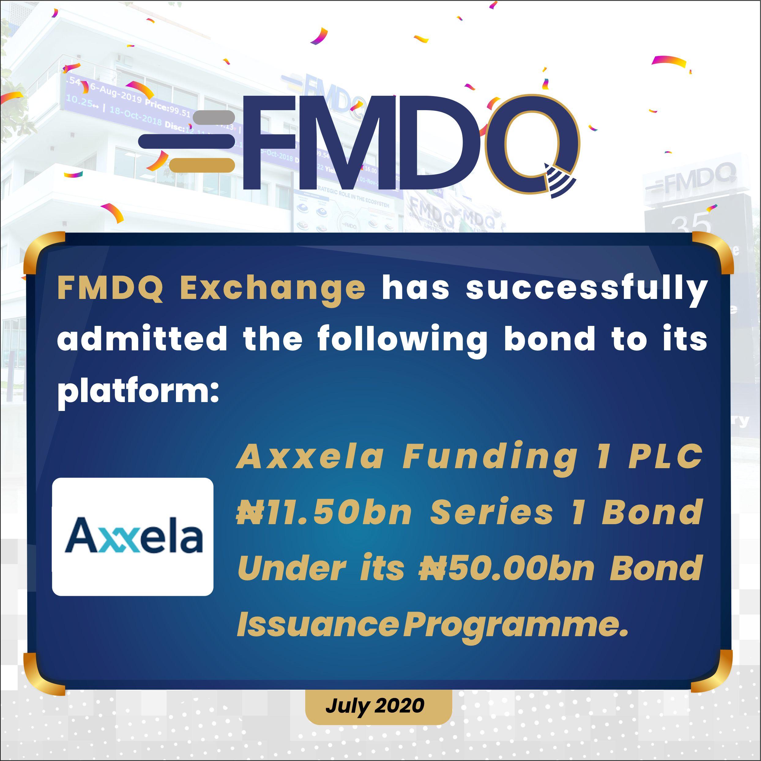 FMDQ Exchange Admits Axxela Funding 1 PLC Series 1 Bond - Brand Spur