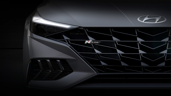 Hyundai Motor Unveils Rendering of New Elantra N Line - Brand Spur