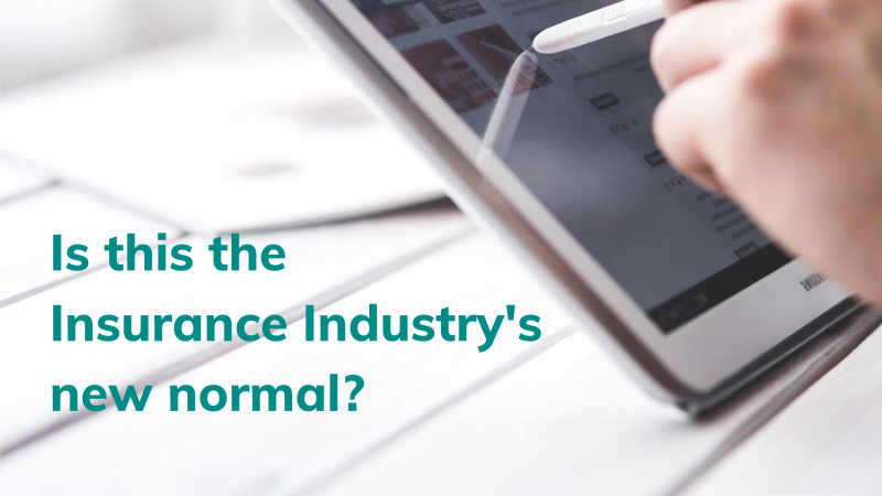 Is this the insurance industry's new normal? - Brand Spur
