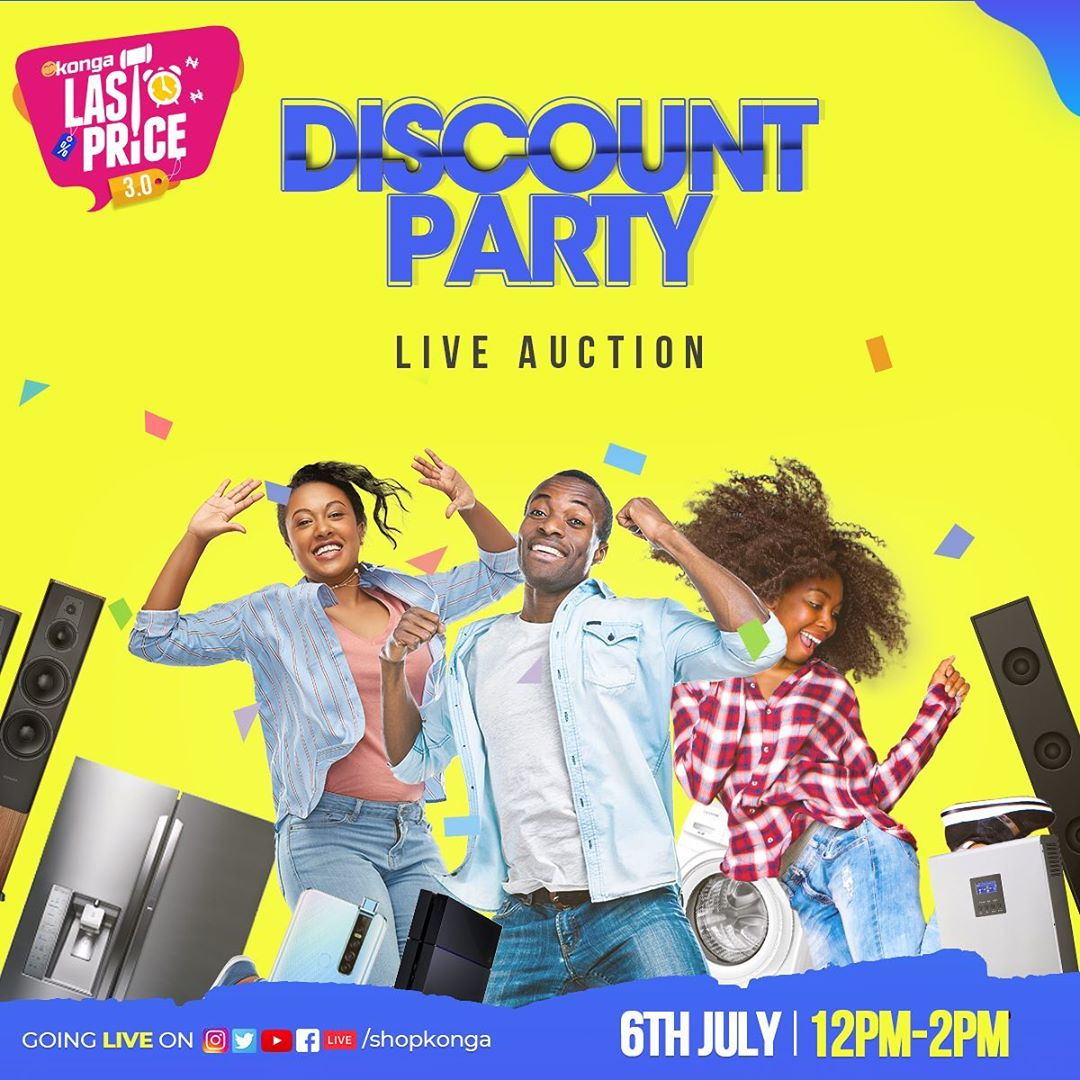 All set for Konga discount party by 12pm - Brand Spur
