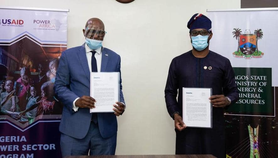 LASG, USAID Sign Letter of Cooperation to Develop Electrification Plan - Brand Spur