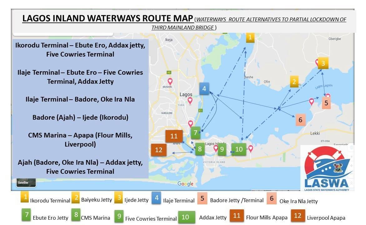 LASWA Releases Alternative Routes Ahead of Partial Bridge Closure - Brand Spur