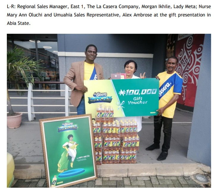 La Casera Rewards And Celebrates Frontline Workers In Nigeria Communities (Photos) - Brand Spur