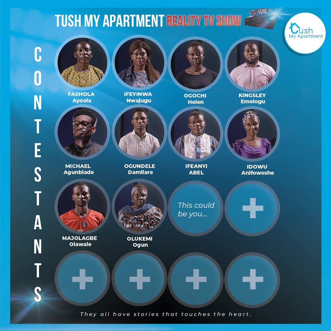 Meet The 11 Contestants for The Episode 2 Of Tush My Apartment Reality TV Show - Brand Spur