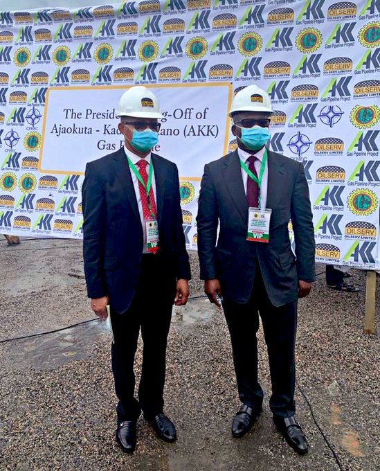 Oando Attends Presidential Flag Off Ceremony For Construction Of 614km Ajaokuta-Kaduna-Kano Gas Pipeline Project - Brand Spur