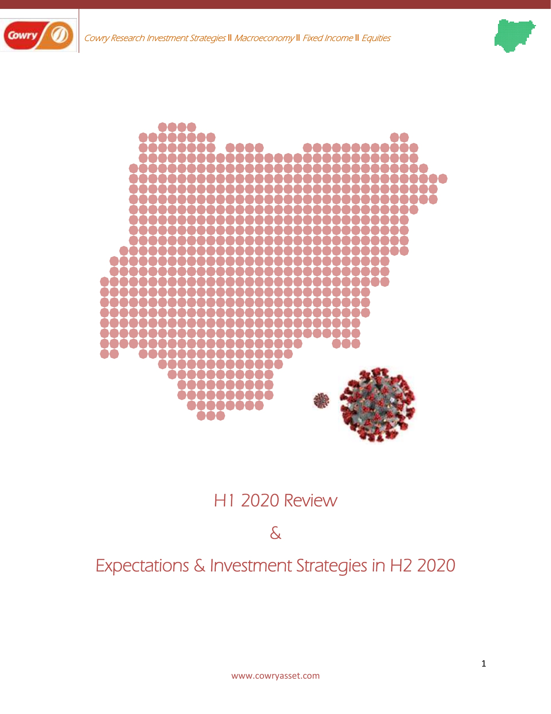 H1 2020 Review and Outlook plus Investment Strategy for H2 2020 - Brand Spur