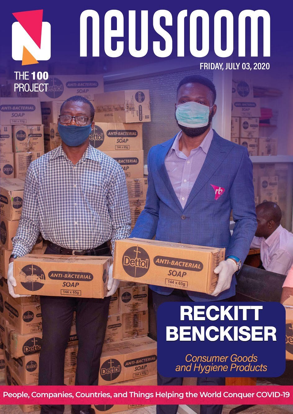 Reckitt Benckiser, MultiChoice, Nigerian Breweries, Coca-Cola make list of organisations giving the world hope amid COVID-19 - Brand Spur