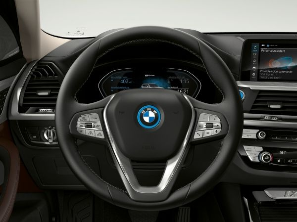 The first-ever BMW iX3 - Brand Spur