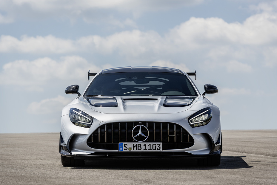 The new Mercedes-AMG GT Black Series - Brand Spur