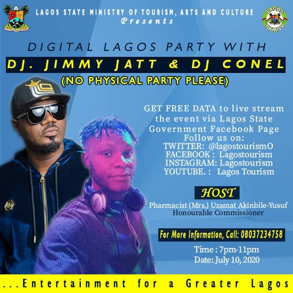 Tourism Ministry set to Hold First Digital Party with DJ Jimmy Jatt - Brand Spur