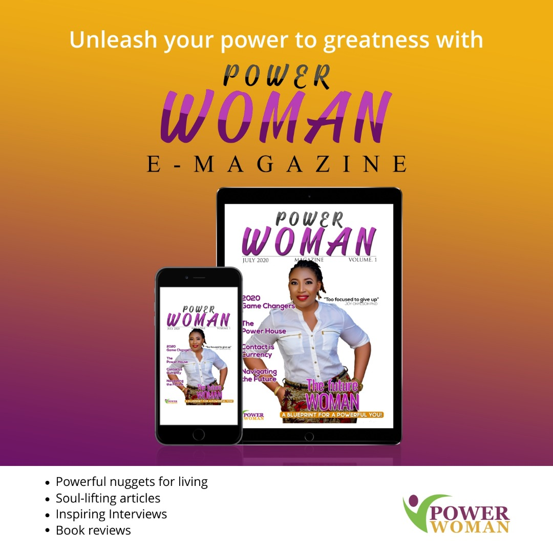 Virtual launch of the Power Woman online magazine - Brand Spur