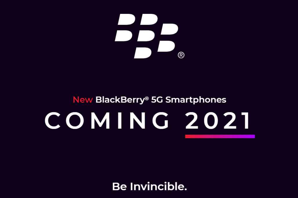 5G BlackBerry Smartphones To Debut H1 2021