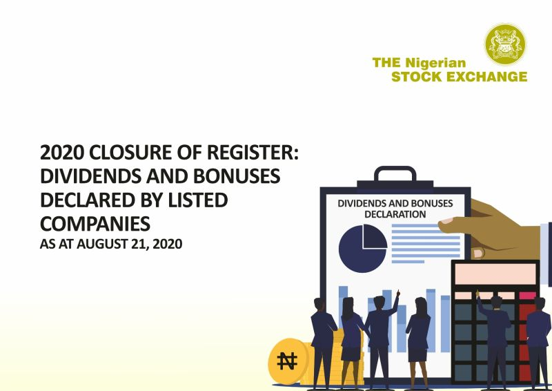 Complete List of Dividends and Bonuses declared on NSE in 2020 (August)
