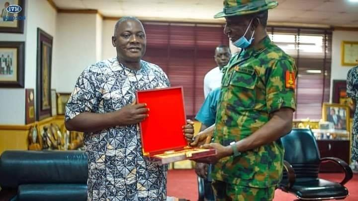 DICON Partners with Innoson Vehicles In Producing Military Hardware (Photos)