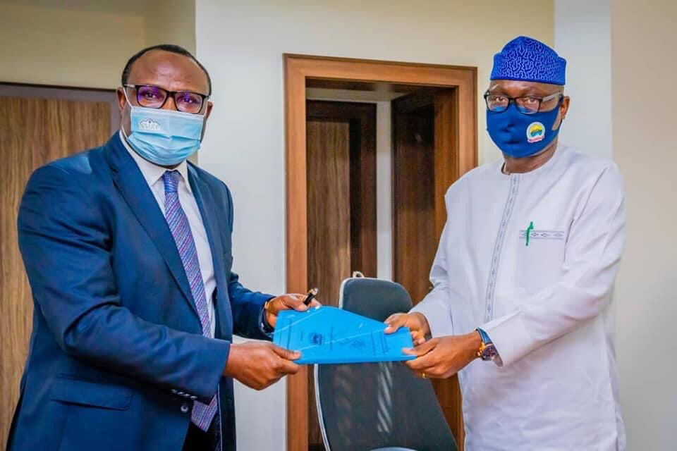 Ekiti State signs an MoU with NMRC increase access to finance for homeowners (Photos)