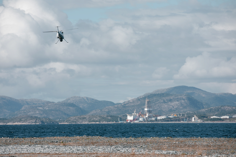 Equinor completes world's first logistics operation with a drone to an offshore installation (Video)