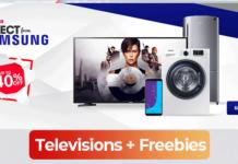 Free Samsung TVs on offer at Konga