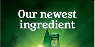 Heineken® beer has been brewed using 100% green energy