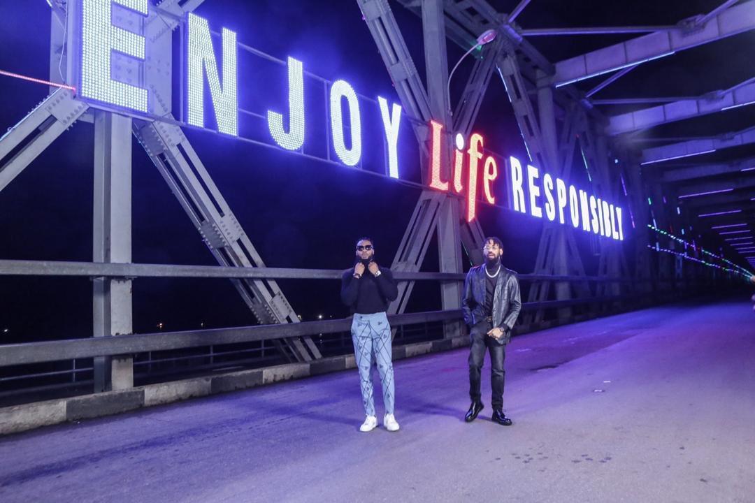 Life Lager Beer Lightens Niger Bridge (Photos) - Brand Spur