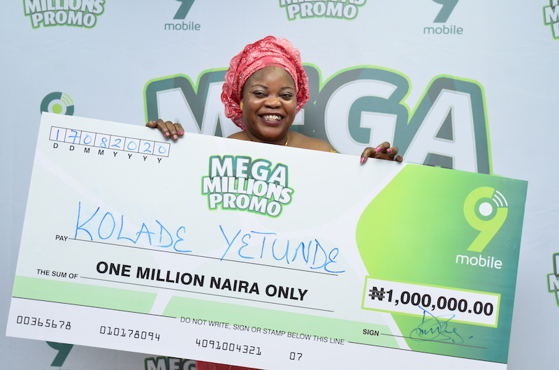 Millionaires and Other Winners Already Emerging in the 9mobile Mega Millions Promo (Photos) - Brand Spur