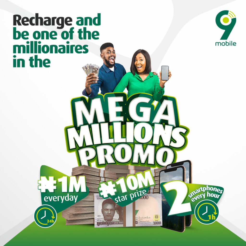Millionaires and Other Winners Already Emerging in the 9mobile Mega Millions Promo (Photos)