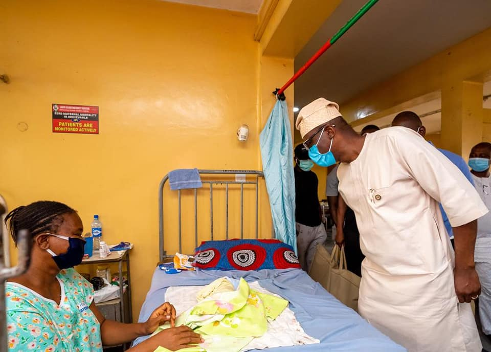 Sanwo-Olu, Wife Celebrate Eid-El-Kabir with Patients, Health Practitioners at Hospitals - Brand Spur