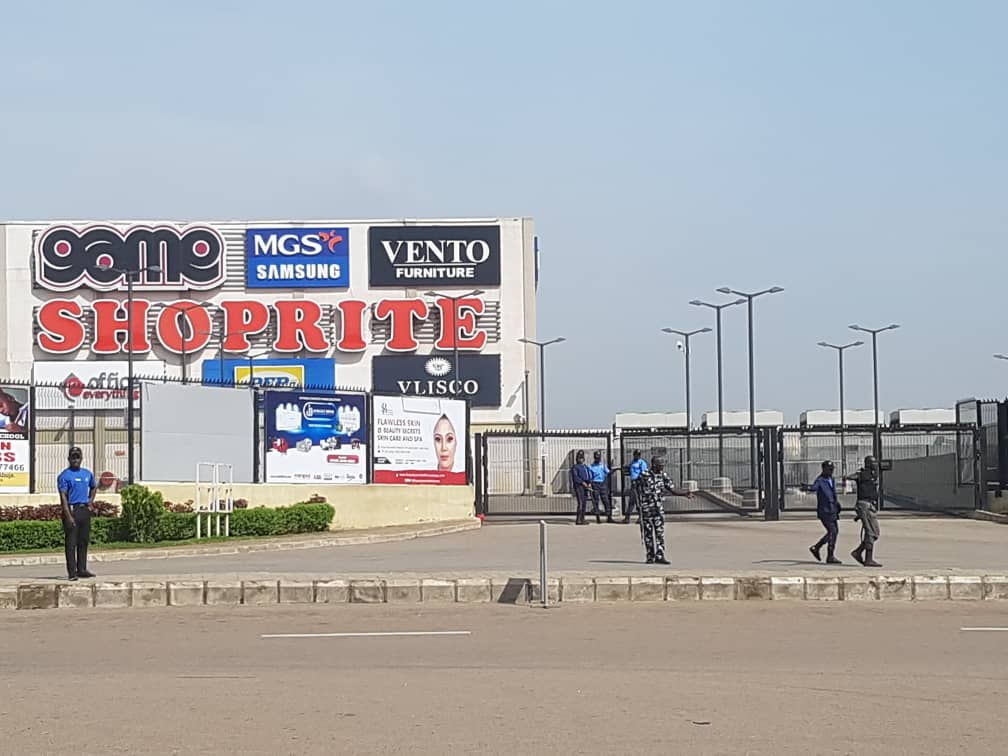 Police take over Shoprite Lugbe, Abuja