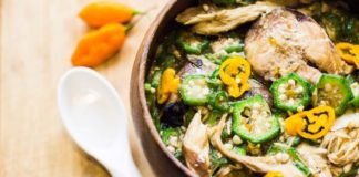 The Okro Example: How to Enjoy Nigerian Soups and Swallow and not add Weight