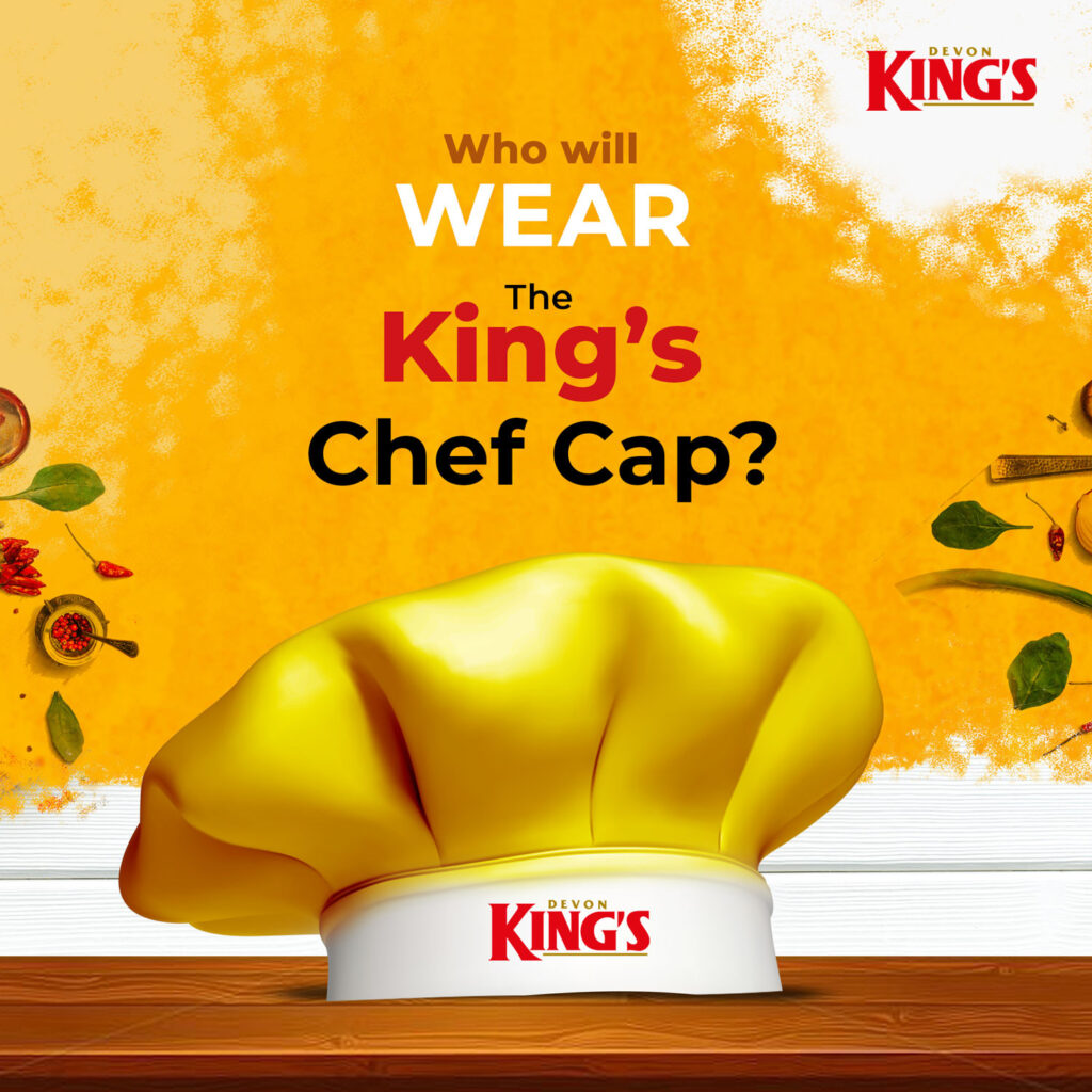 #TheKingsChef challenge!: Up to 1 million naira worth prizes up for grabs in the Devon King's