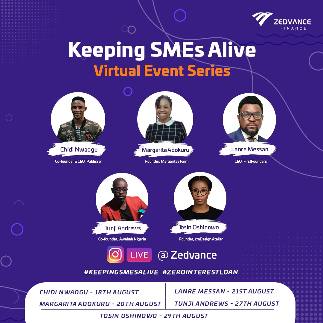 "Zedvance Unveils ""Keeping SMEs Alive"" Campaign, Offers Zero-interest Loans to Small Businesses"