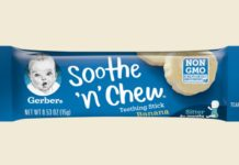Gerber introduces Soothe 'n' Chew teething sticks – a first-of-its-kind natural product for teething