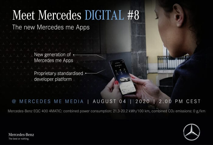 the new generation of Mercedes me Apps launches - BRANDSPUR10