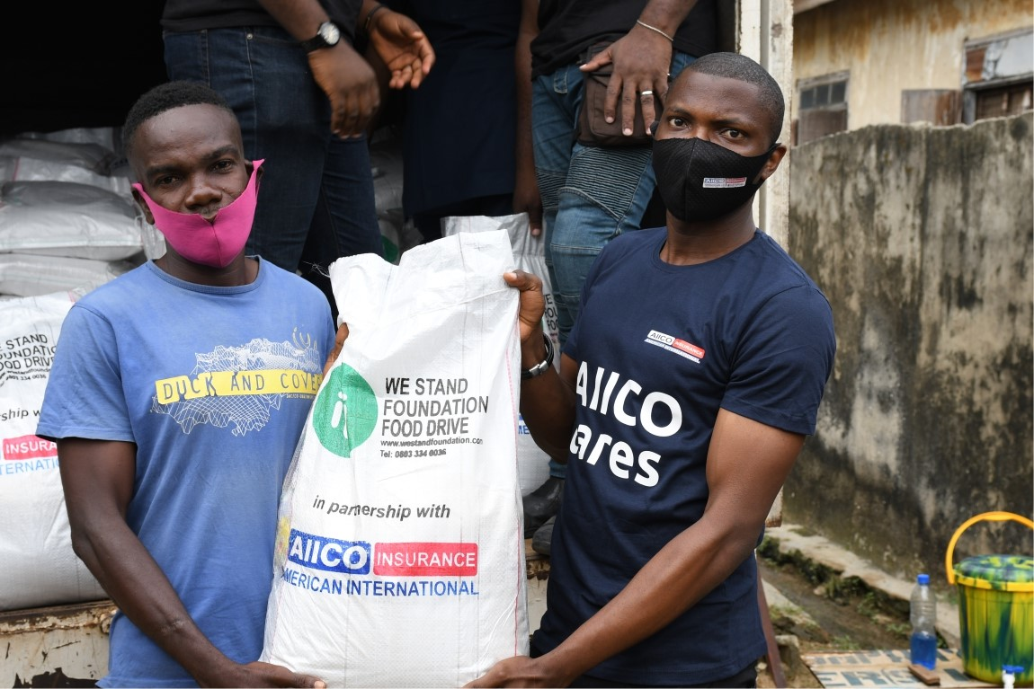 AIICO Partners NGO to Feed Underprivileged Community (Photos)