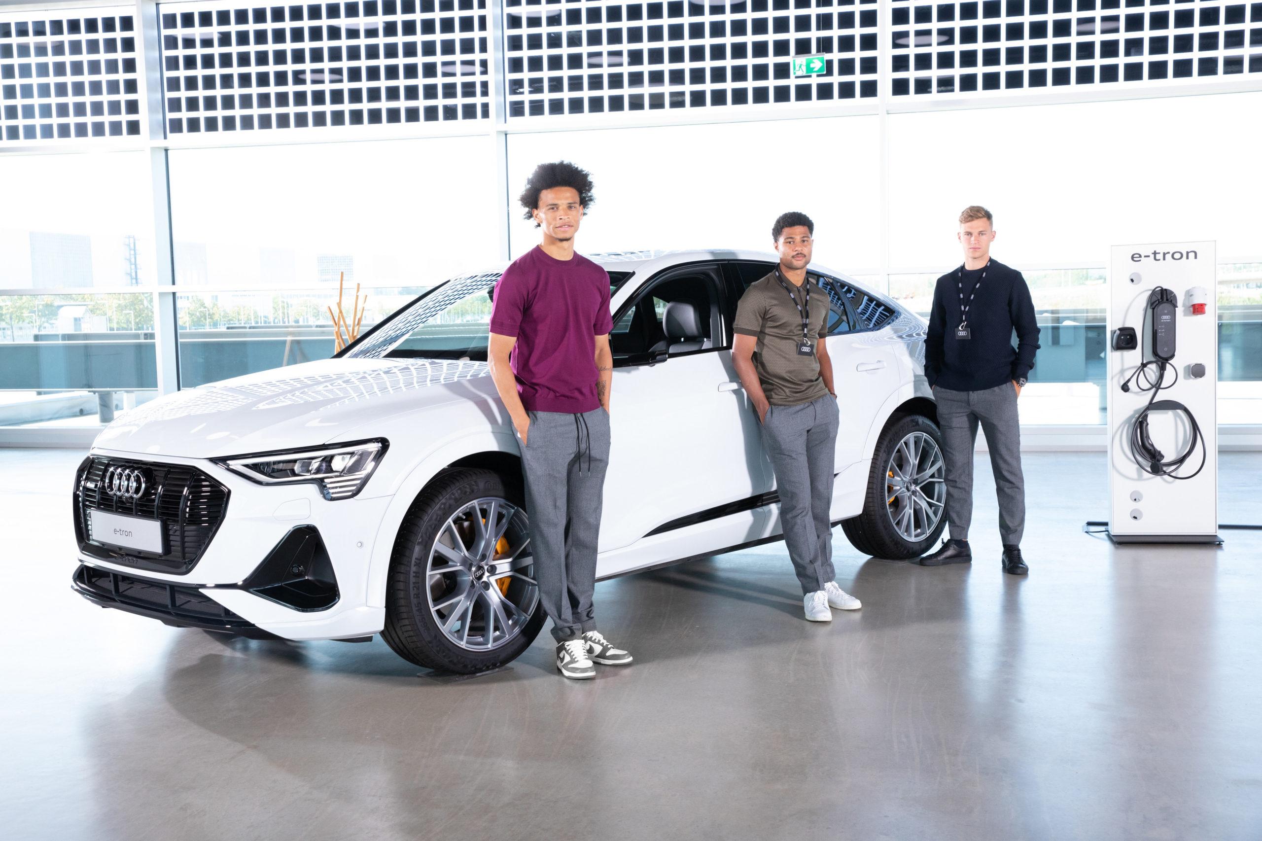 Audi electrifies FC Bayern Munich (Photos) - Brand Spur