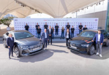 Audi electrifies FC Bayern Munich (Photos)