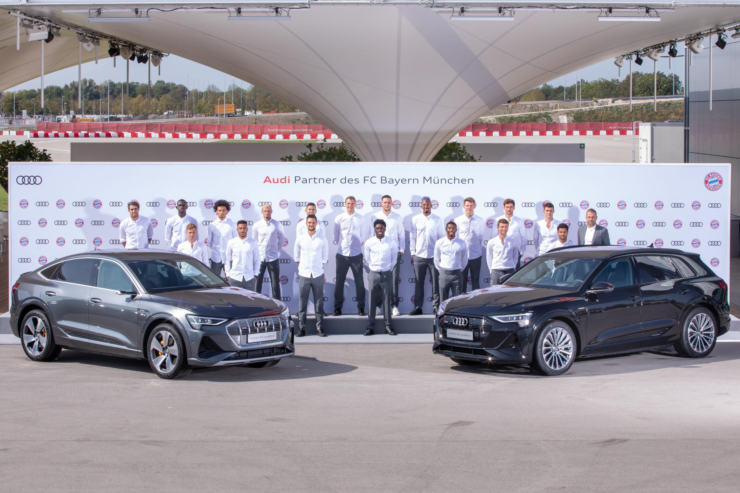 Audi electrifies FC Bayern Munich (Photos)