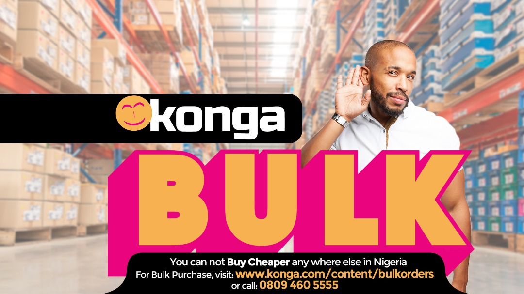 Game-changer for manufacturers, business owners, as Konga Bulk launches Monday