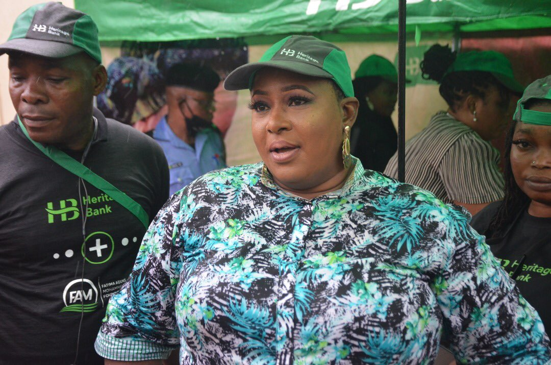 Heritage Bank, FAMO Give Palliatives To 300 Private School Teachers, SMEs (Photos) - Brand Spur