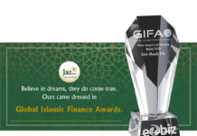 Jaiz Bank Wins Most Improved Islamic Bank Award
