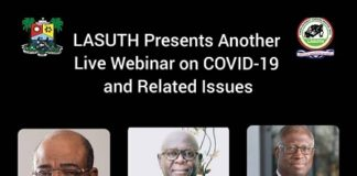 LASUTH, webinar on COVID-19