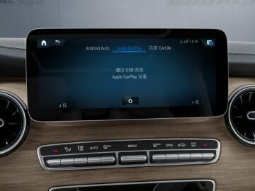 Made in China, for China market premiere of the new Mercedes Benz V-Class
