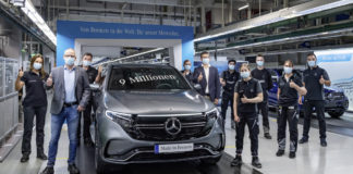 Mercedes-Benz Bremen Plant produces the nine millionth three-pointed star