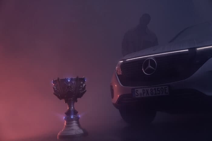 Mercedes-Benz to become the exclusive automotive partner of all global League of Legends events