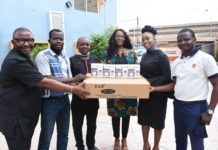 MultiChoice Nigeria visits BJAN, donates PPE to prevent COVID-19 spread