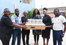MultiChoice Nigeria visits BJAN, donates PPE to prevent COVID-19 spread