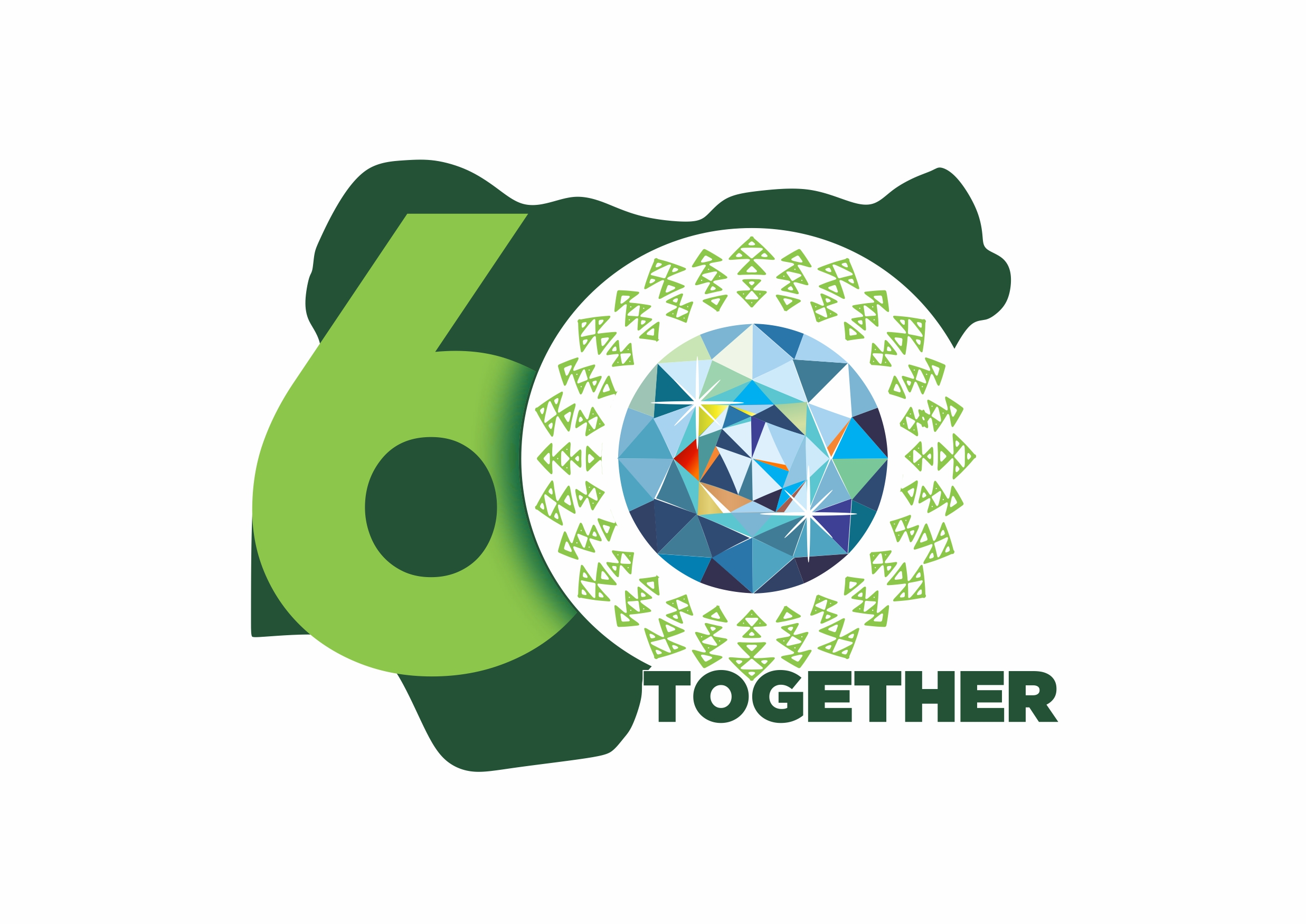 Co-creators of 'Nigeria at 60 logo' refute plagiarism peddled by naysayers
